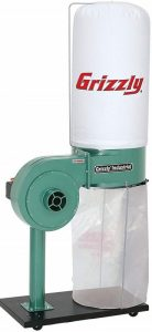 Grizzly-G8027-1-HP-Dust-Collector