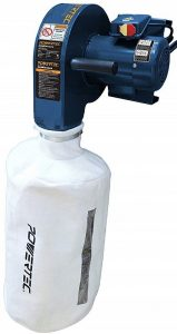 POWERTEC-DC5370-Wall-Dust-Collector-with-2.5-Micron-Filter-Bag